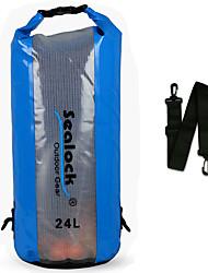 Недорогие -Sealock 24 L Водонепроницаемый сухой мешок Дожденепроницаемый, Пригодно для носки для Плавание / Дайвинг / Серфинг