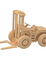 cheap -Wooden Puzzle / Logic & Puzzle Toy Construction Vehicle School / New Design / Professional Level Wooden 1 pcs Kid's / Teen All Gift