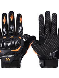 povoljno -WOSAWE Cijeli prst Uniseks Moto rukavice Patka dolje / Polyster / Prozračna mrežica Prozračnost / Otporno na nošenje / Otpornost na udarce