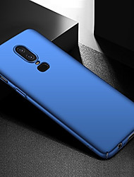 cheap -Case For OnePlus OnePlus 6 / OnePlus 5T Ultra-thin / Frosted Back Cover Solid Colored Hard PC for OnePlus 6 / One Plus 5 / OnePlus 5T