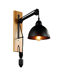 cheap -New Design / Creative Rustic / Lodge / Country Wall Lamps & Sconces Study Room / Office / Shops / Cafes Metal Wall Light 220-240V
