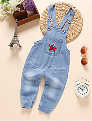 cheap -Baby Boys' Basic Print Linen Jeans / Toddler