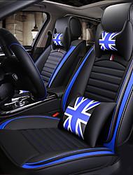 Недорогие -ODEER Подушечки на автокресло Чехлы для сидений Черный / Синий Искусственная кожа Общий for Универсальный Все года Все модели