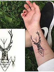 Недорогие -10 pcs Временные тату Временные татуировки Тату с животными Искусство тела рука / запястье / плечо
