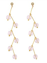 cheap -Women's Drop Earrings - Stylish Gold For Birthday / Daily