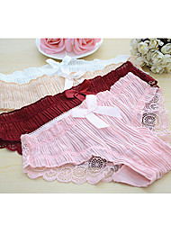 cheap -Women's Shorties & Boyshorts Panties Jacquard Mid Waist