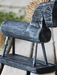 baratos -1pç Resina / Madeira Campo / Rustico para Decoração do lar, Objetos de decoração / Home Decorações Presentes