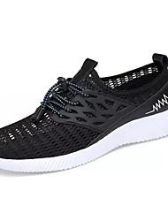 povoljno -Muškarci Cipele PU Ljeto Udobne cipele Sneakers Crn / Plava