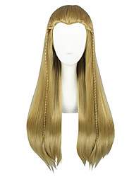 cheap -Cosplay Wigs Cosplay Movie / TV Theme Costumes Anime Cosplay Wigs 66.04 cm CM Heat Resistant Fiber All