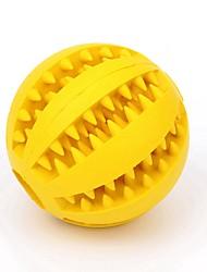 Недорогие -Жевательные игрушки / Интерактивный / Игрушка для очистки зубов Подходит для домашних животных Резиновый силикон Назначение Собаки / Кролики / Коты