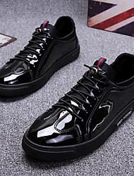 povoljno -Muškarci Cipele Lakirana koža Proljeće Udobne cipele Sneakers Crn
