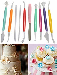 cheap -Bakeware tools Plastic DIY For Bread / For Cake / For Cupcake Painting Pen / Cake Molds / Dessert Decorators 10pcs