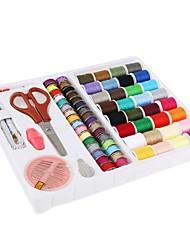 Недорогие -набор для набора 100pcs / set decdeal, набор для шитья для начинающих, практичный мини-швейный комплект для путешествий