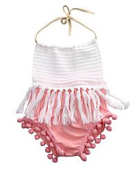 お買い得  -赤ちゃん 女の子 プリント ノースリーブ ワンピース