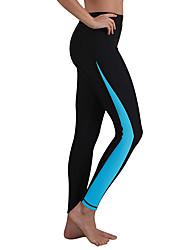 お買い得  -SBART 女性用 ウェットパンツ サイクリングタイツ 高通気性 水泳 / 潜水 花 / 植物 / 高弾性