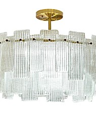 cheap -QIHengZhaoMing Crystal Flush Mount Ambient Light 110-120V / 220-240V Bulb Not Included / 15-20㎡