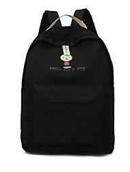 cheap -Women's Bags Canvas School Bag Pattern / Print Black / Red / Beige