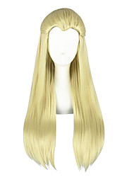 cheap -Cosplay Wigs Cosplay Cookie Anime Anime Cosplay Wigs 26 inch CM Heat Resistant Fiber All