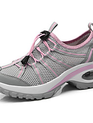 cheap -Women's Shoes Tulle Spring & Summer Comfort Athletic Shoes Running Shoes Creepers Purple / Dark Grey / Light Pink
