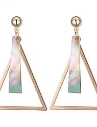 cheap -Women's Drop Earrings - Stylish Gold For Daily / Date