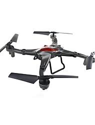 baratos -RC Drone JJRC D70WG RTF 4CH 6 Eixos 2.4G Com Câmera HD 0.3MP 480P Quadcópero com CR Modo Espelho Inteligente / Vôo Invertido 360° / Acesso à Gravação em Tempo Real Quadcóptero RC / Controle Remoto