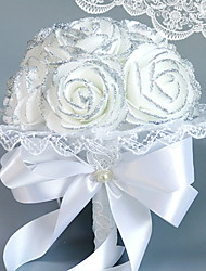 baratos -Flores artificiais 1 Ramo Solteiro (L150 cm x C200 cm) Casamento Rosas Flor de Mesa