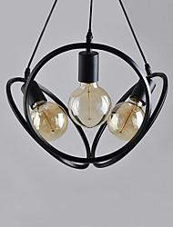 Недорогие -CONTRACTED LED 3-Light Шары / Оригинальные Люстры и лампы Потолочный светильник Окрашенные отделки Металл Мини, Очаровательный, Регулируется 110-120Вольт / 220-240Вольт Лампочки не включены