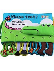 Недорогие -Игрушка для обучения чтению Животные 3D Читая книгу Детские Игрушки Подарок 1 pcs