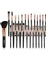 abordables -Pinceaux à maquillage Professionnel ensembles de brosses / Pinceau à Blush / Pinceau Fard à Paupières Fibre Nylon Couvrant Bois / bambou
