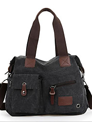 cheap -Women's Bags Nylon Shoulder Bag Zipper Dark Brown / Army Green / Khaki