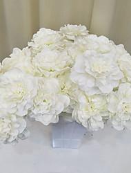 abordables -Fleurs artificielles Une succursale Classique style pastoral Fleurs éternelles Arbre de Noël