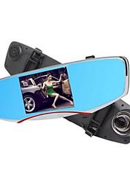 Недорогие -Anytek T2 1080p Ночное видение / Двойной объектив Автомобильный видеорегистратор 170° Широкий угол 5 дюймовый LCD Капюшон с WIFI /