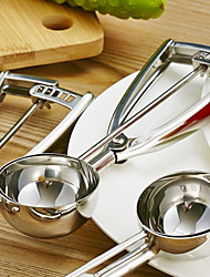 Недорогие -Кухонные принадлежности Нержавеющая сталь / железо Аксессуары для кухонных инструментов Удобная ручка / Творческая кухня Гаджет Ложка Для фруктов 1шт