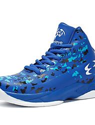 Недорогие -Мальчики Обувь Полиуретан Весна лето Удобная обувь Спортивная обувь Для баскетбола для Черный / Черный / Красный / Тёмно-синий