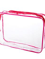 abordables -PVC Rectangle Créatif Accueil Organisation, 1pc Rangement de Maquillage