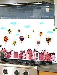 Недорогие -Декоративные наклейки на стены - Простые наклейки Пейзаж Кухня / Столовая