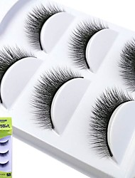 cheap -lash False Eyelashes Pro Makeup 1 pcs Eye Professional / Fashion Event / Party / Daily Wear Daily Makeup / Halloween Makeup / Party Makeup Natural Curly Cosmetic Grooming Supplies