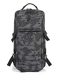 Недорогие -35 L Рюкзаки - Пригодно для носки, Воздухопроницаемость На открытом воздухе Походы, Армия, Путешествия Оксфорд Черный