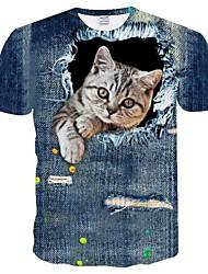 economico -T-shirt Per uomo Retato, Animali