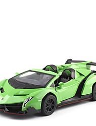 Недорогие -Игрушечные машинки Классическая машинка внедорожник Автомобиль Новый дизайн Металлический сплав Детские Для подростков Все Мальчики Девочки Игрушки Подарок 1 pcs