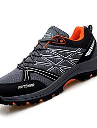Недорогие -Муж. Сетка Осень Удобная обувь Спортивная обувь Для прогулок Контрастных цветов Серый / Черный / зеленый / Черный / синий