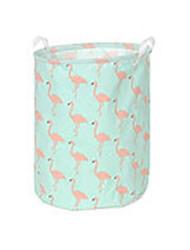 cheap -Fabrics Round Cute / Cool Home Organization, 1pc Storage Baskets