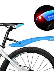 preiswerte -Bike Fenders Geländerad Einstellbar / LED-Lampen / Einziehbar Kunststoff - 2 pcs Rot / Grün / Blau