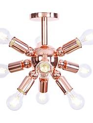 abordables -9-luz Montage de Flujo Luz Ambiente - Mini Estilo, Nuevo diseño, 110-120V / 220-240V Bombilla no incluida