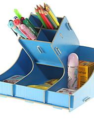 preiswerte -Holz Rechteck Neues Design / Cool Zuhause Organisation, 1pc Schreibtischzubehör