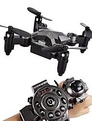 baratos -RC Drone SainSmart Jr. Watch Drone RTF 4CH 6 Eixos 2.4G Com Câmera HD 0.3MP 480P Quadcópero com CR Retorno Com 1 Botão / Modo Espelho Inteligente Quadcóptero RC / Controle Remoto / Câmera