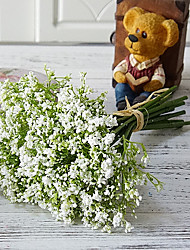 cheap -Artificial Flowers 1 Branch Classic Simple Style / Pastoral Style Baby Breath Tabletop Flower
