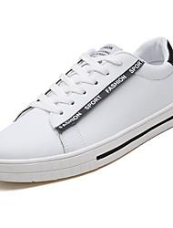 cheap -Men's PU(Polyurethane) Summer Comfort Sneakers Red / Black / White / White / Green
