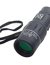 cheap -SRATE 16 X 52 mm Monocular High Definition / Glow Black Camping / Hiking / Hunting