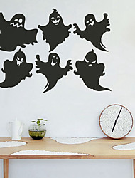 cheap -Decorative Wall Stickers - Holiday Wall Stickers Halloween Decorations Living Room / Bedroom / Bathroom